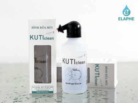 bình rửa mũi kuti clean elaphe