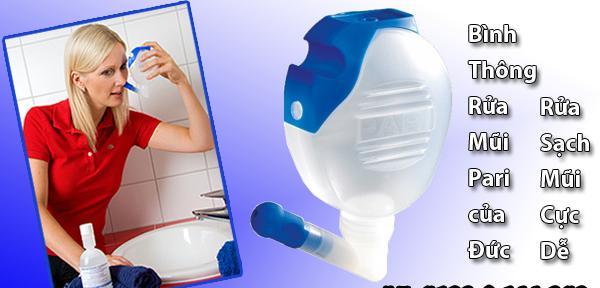 bình rửa mũi kuti clean - elaphe